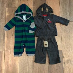 2 winter 3 month outfit